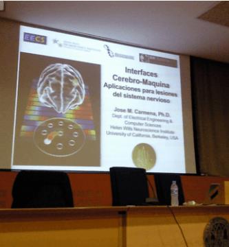 """Conferencia """"Conectando cerebros con máquinas"""""""