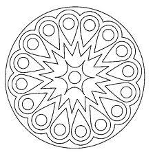 Mandala-Colorear