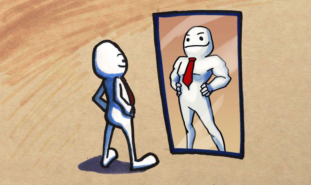 Tres formas diferentes de utilizar el t rmino autoestima for Espejo que no invierte la imagen