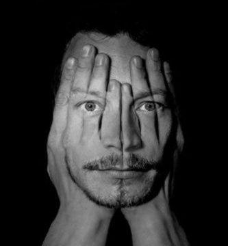 Cara dividida de la esquizofrenia