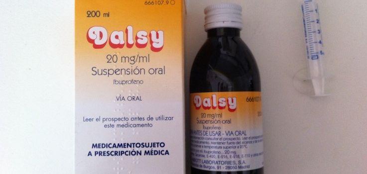 Dalsy jarabe para bebé
