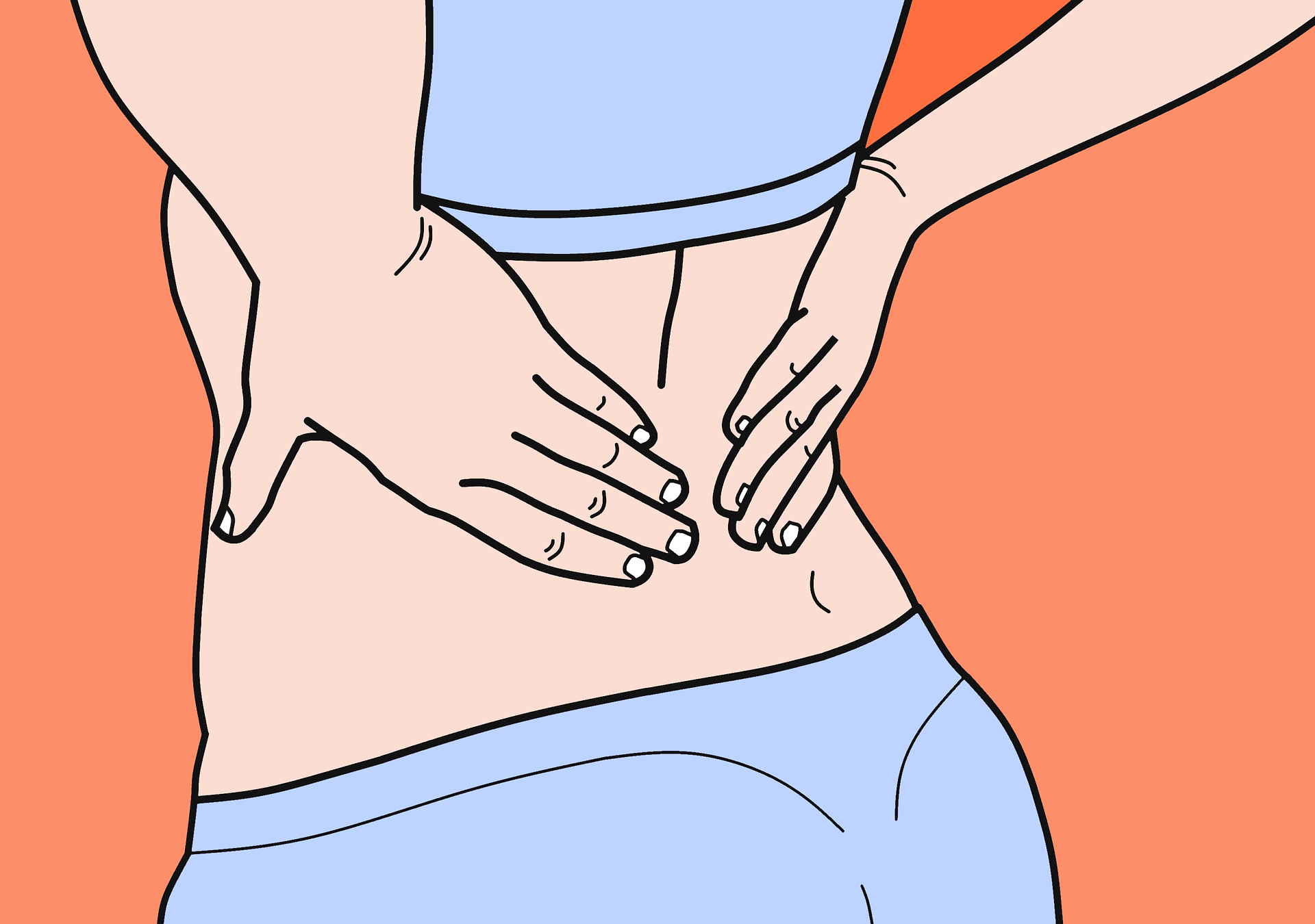 Dolor de espalda lumbar