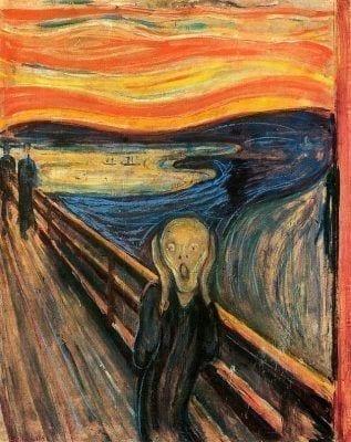 Estrés reflejado por Munch