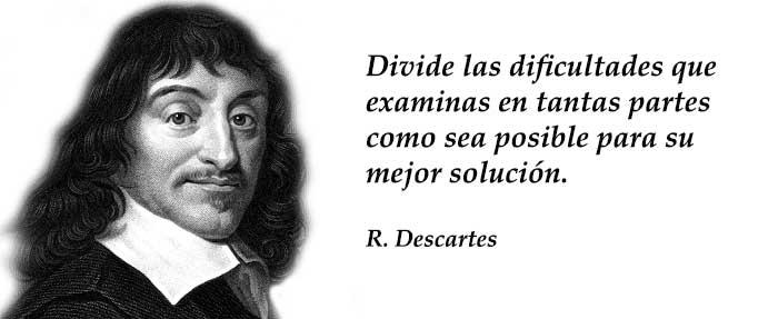 Frases filosóficas de Descartes