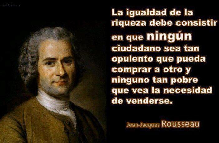 Frases filosóficas Rousseau