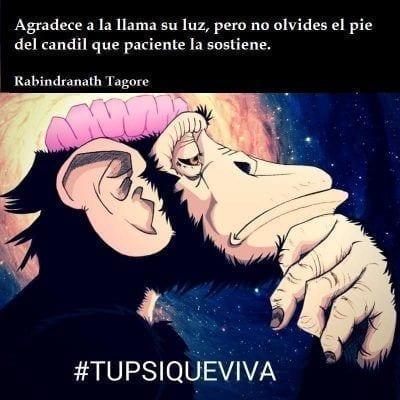 Frase psicológica de Tagore