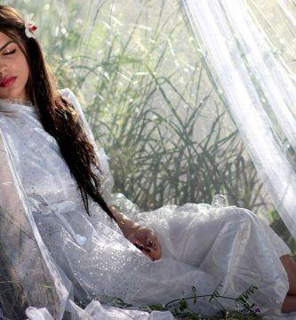 Mujer con sueños