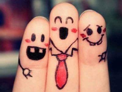 Amistad entre dedos