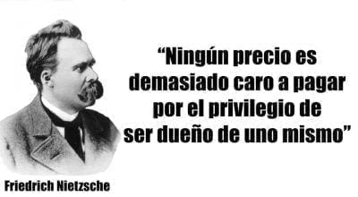 Frase corta Nietzsche