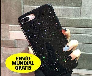 Funda de Lujo Para iPhone con Estrellas Brillantes