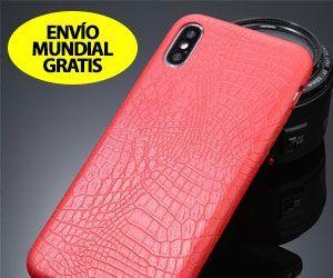 Funda de Lujo para iPhone de Textura de Cocodrilo