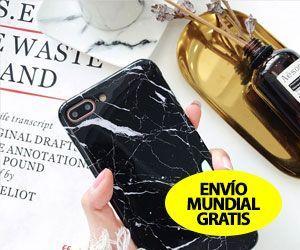 Funda de Mármol de Lujo Para iPhone