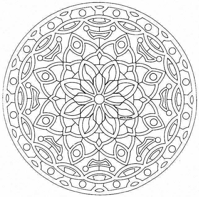 Mandala colorear2