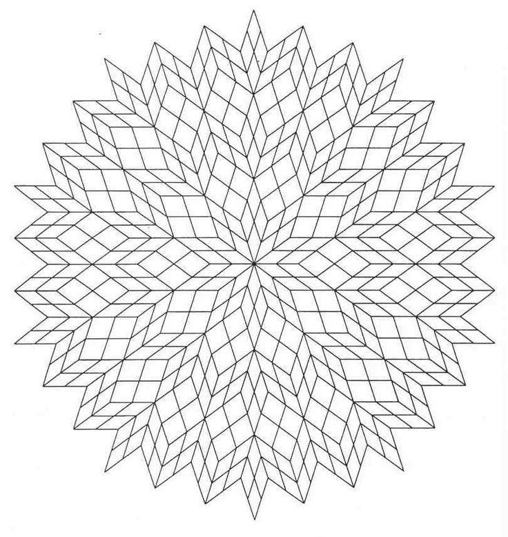 Mandala para colorear3